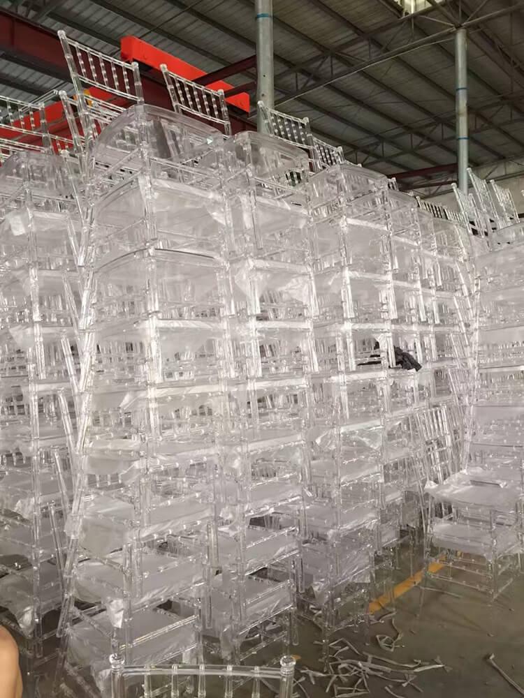 400pcs Resin Chiavari Chairs For Malaysia Event Company